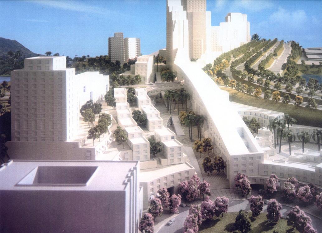Santa Fe Master Plan - Model of Housing,