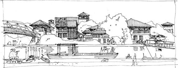 Dejima Master Plan - Canal