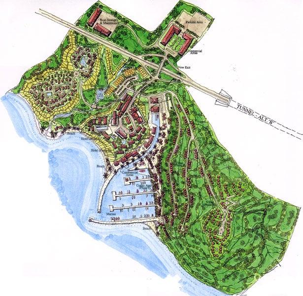 Punta Toro Site Plan