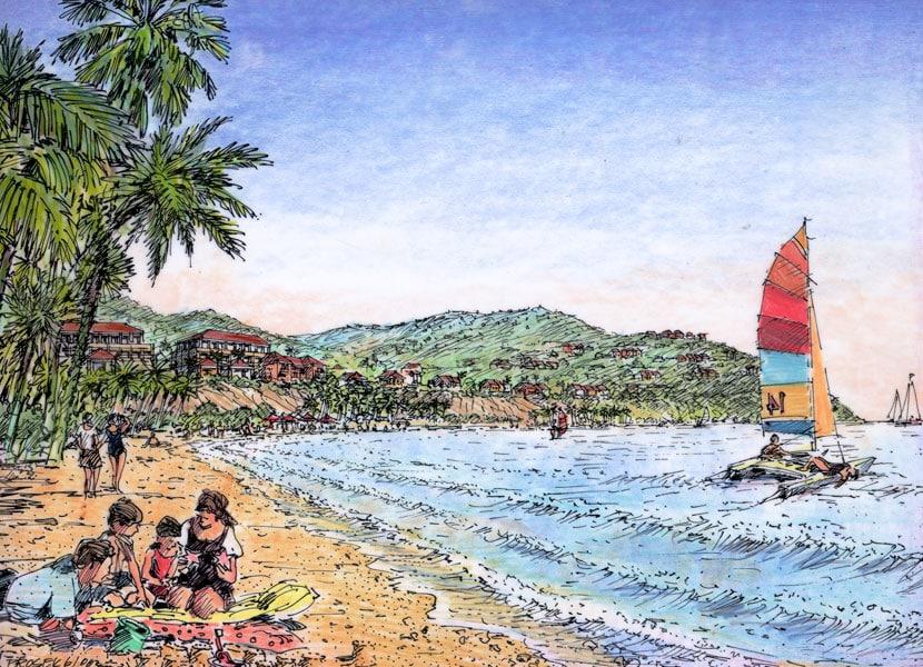 Punta Toro Beach View