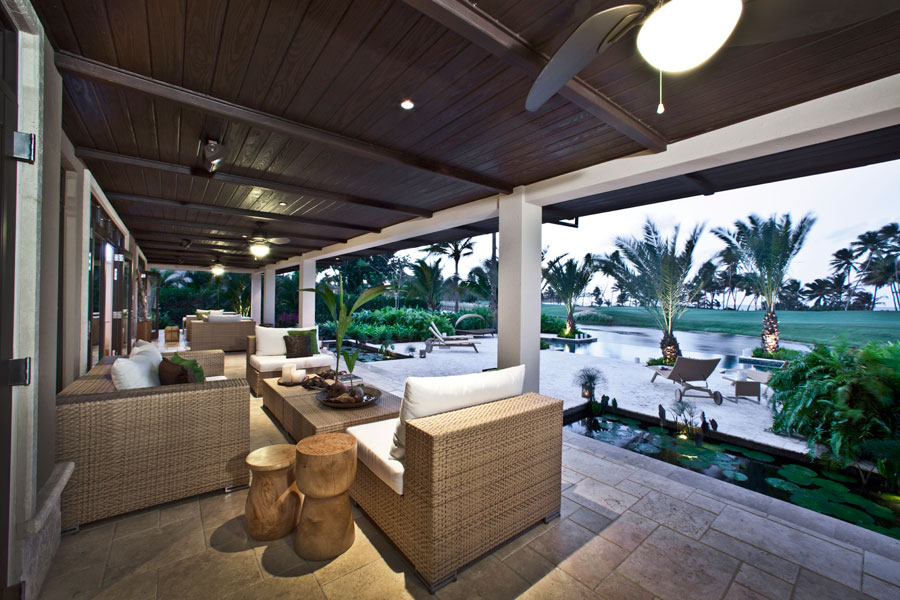 Bahia Beach House I, terrace