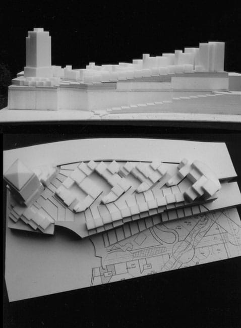 Santa Fe Master Plan - Model of Housing,