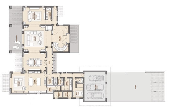 Design by Young & da la Sota Architects, Arquitectos, San Juan, Puerto Rico.