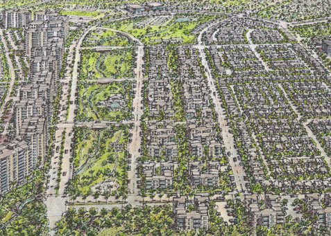 Riviera Master Planned Community Aerial