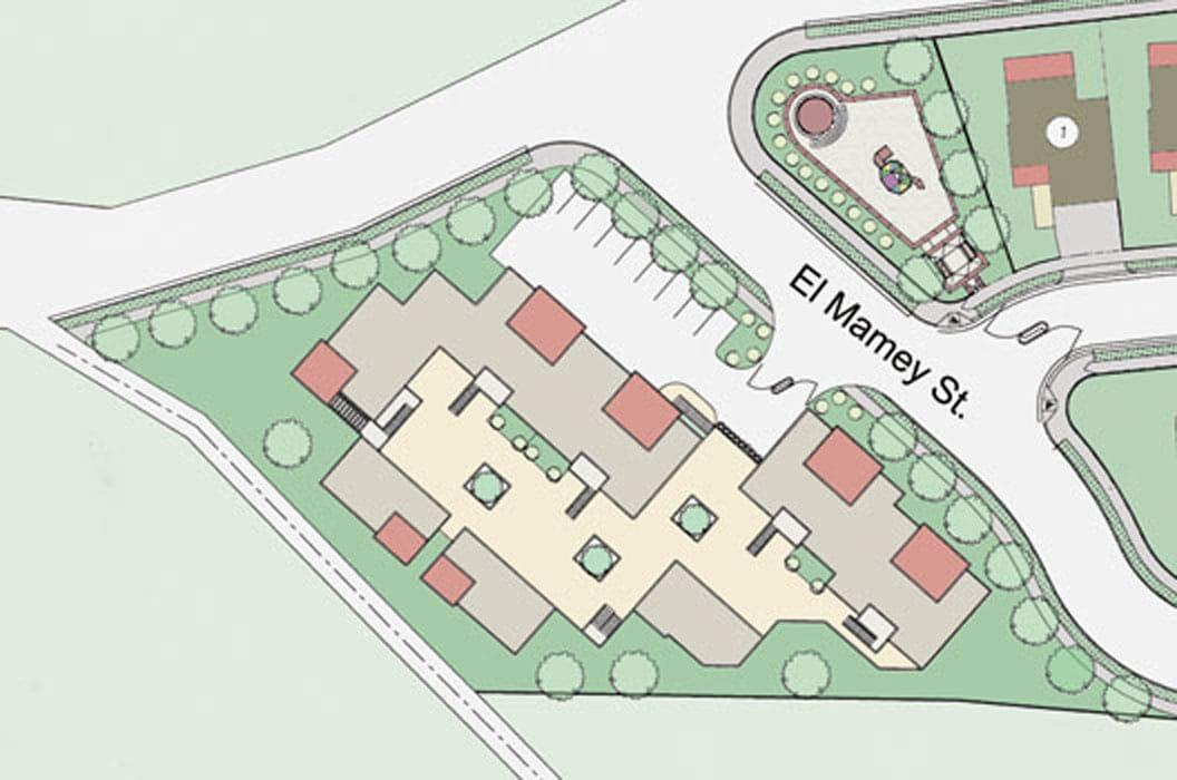 Highlands Courtyard - Site Plan
