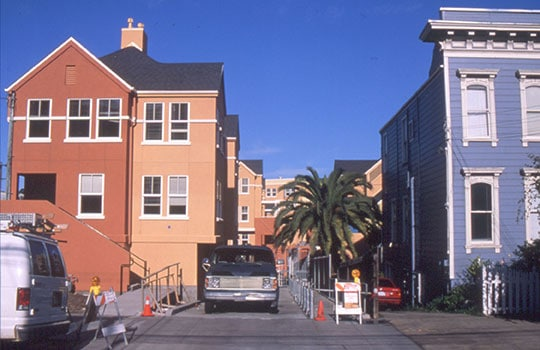 View from Rear Alley