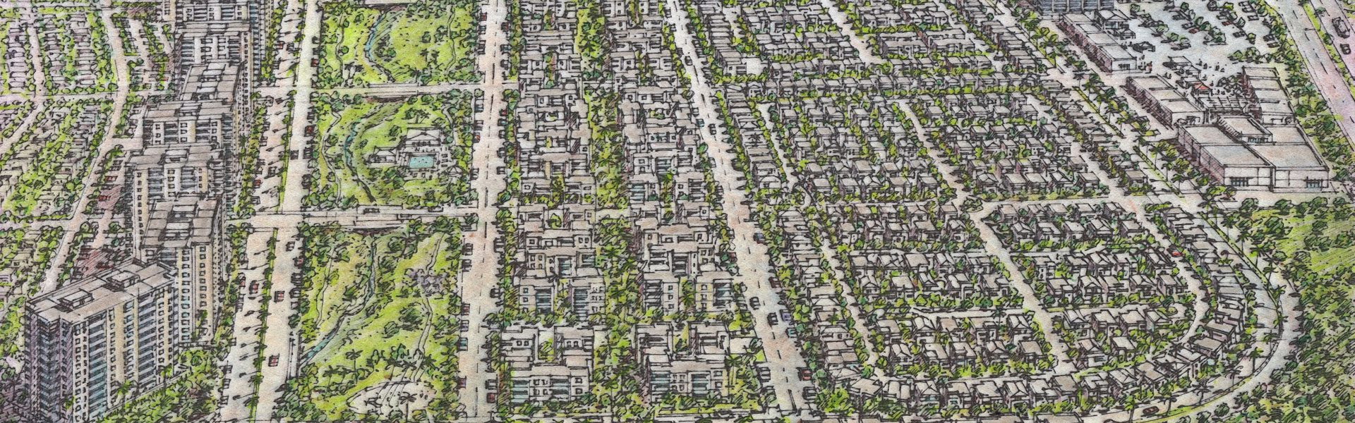 Riviera Master Planned Community aerial 2